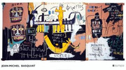 Jean Michel Basquiat Large Rare Provactive History of Black People  Exhibition Art Print!