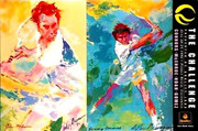 Leroy Neiman L/e Prints Sports Lovers Print II NO LONGER IN PRINT LAST ONES!