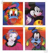 Peter Max Complete Commemorative Disney Suite Serigraphs