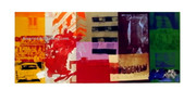 Rare Early 1990s Robert Rauschenberg Museum Print
