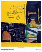 Rare Huge Jean michel Basquiat Fine Art Print