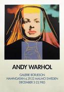 Rare Sweden Edition Warhol Ingrid Bergman As Nun!