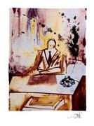 Salvador Dali Surreal Business Man Ltd Ed Litho W/coa