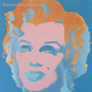 Sunday B Morning Warhol Marilyn Print(blue)