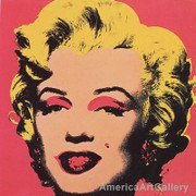 Sunday B Morning Warhol Marilyn Print(red)