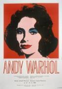 Very Rare Elizabeth Taylor Warhol L/e Exhibition Print