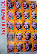 Warhol Exhibition Israeli Museum Art Exhibition Print Poster