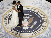 Barack And Michelles Dance '