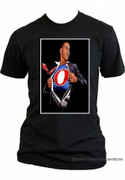 Barack Obama Collectible Superman Obamaman T-shirt