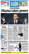 Barack Obama Takes Power Inauguration January 20, 2009 Election