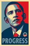 Cool Barack Obama Collectible Progress Print