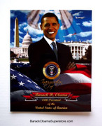 Elegant Collectible Barack Obama Inauguration Poster