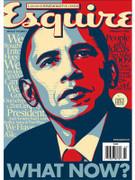 Esquire Magazine Barack Obama Cover Issue 2009