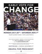 Exciting Barack Obama Rally Campaign Poster