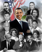 Fabulous Barack Obama Fine Art Print