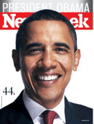 Newsweek Magazine Barack Obama 44th President Cover Issue 2008