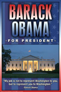 Obama President Art Print