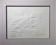 Splendid Exceptional Embossed Barack Obama Art Relief