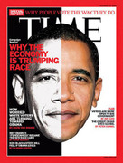 Time Magazine Barack Obama Economy Cover Issue 2008