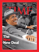 Time Magazine Barack Obama New Deal Cover Issue 2008