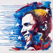 Wonderful Barack Obama Canvas Giclee  Limited Edition Of 300