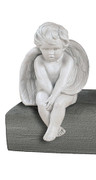 Sitting Baby Angel Statue Sculpture