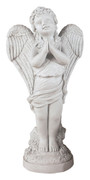 Striking Praying Angel Sculpture Statue