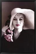 Marilyn Monroe - Pink Flower - Unknown