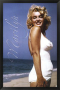 Marilyn Monroe - Beach Pose - Unknown