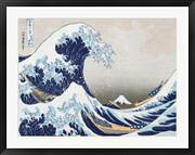 The Wave off Kanagawa - Katsushika Hokusai