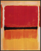Untitled (Violet, Black, Orange, Yellow on White and Red), 1949 - Mark Rothko