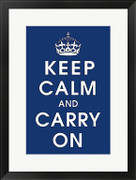 Keep Calm (navy) - Unknown