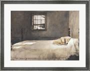 Master Bedroom, c.1965 - Andrew Wyeth