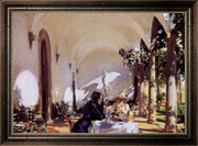 Breakfast In The Loggia - John Singer Sargent