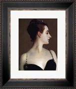 Madame X (detail) - John Singer Sargent