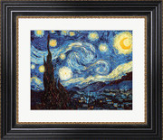 The Starry Night, June 1889 - Vincent Van Gogh