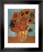 Vase with Twelve Sunflowers, c.1888 - Vincent Van Gogh