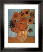 Vase with Twelve Sunflowers, c.1888 - Vincent Van Gogh