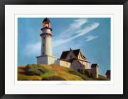 Lighthouse at Two Lights - Edward Hopper