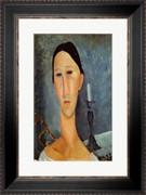 Hanka Zborowska with a Candlestick, 1919 - Amedeo Modigliani