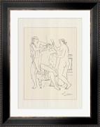 La couronne de fleurs (serigraph) - Pablo Picasso