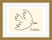 Dove of Peace (serigraph) - Pablo Picasso