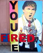 Fabulous Steve Kaufman Donald Trump