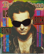 Fabulous Steve Kaufman Rolling Stone Bono
