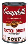 Extraordinary Andy Warhol, Edition Prints Campbells Soup Ii: Scotch Broth (Ii.55), 1969