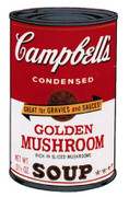 Splendid Andy Warhol, Edition Prints Campbells Soup Ii: Golden Mushrooms (Ii.62), 1969