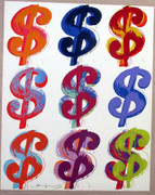 Great Andy Warhol, Edition Prints $ (9) (Ii.286), 1982