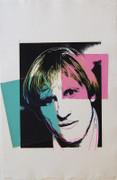 Exciting Andy Warhol, Original Works Gerard Depardieu, 1986