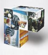 Fab! Robert Rauschenberg, Tibetan Keys (Cube), 1986