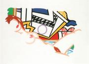 Rare Tom Wesselmann, Monica Nude With Lichtenstein, 2002